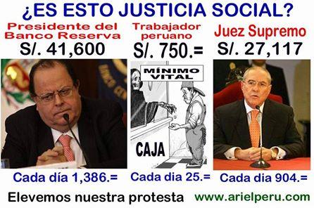 Perú: Cual oposición...