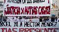 Marcha a tres a�os del asesinato policial de Mat�as Casas