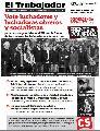 Salió El Trabajador número 173 edición especial elecciones