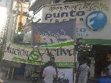 Trabajadores de farmacia protestaron por despido de candidato a delegado