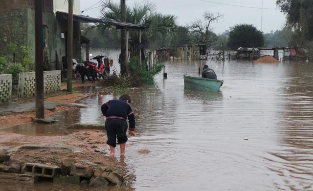 Las inundaciones ap...