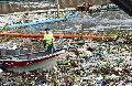 Polémica por la basura en Punta Querandí