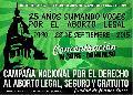 D�a de Lucha por el Derecho al Aborto en Am�rica Latina y el Caribe