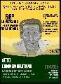 Acto por el 68� Aniversario de la Masacre de La Bomba