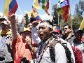 �En lugar de dialogar, el Gobierno de Correa nos responde con represi�n�