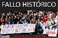 Fallo hist�rico: la Justicia orden� reincorporar a uno de los despedidos del diario Hoy
