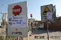 #FueraPortademiBarrio / Continúa el bloqueo y acampe por la vida.