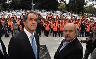 Pedido urgente de audiencia a Scioli por los cr�menes policiales