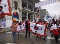 Protesta de la comunidad Solco Yampa frente a tribunales de Concepci�n