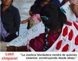 Pueblos ind�genas en Chiapas se encuentran para construir justicia verdadera