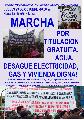 Perú: 29 de octubre, marcha por titulación gratuita de vivienda, seguridad y servicios...