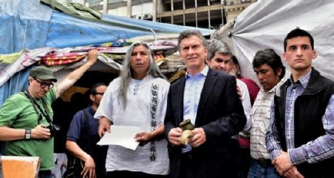 El día que Macri des...