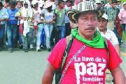 Acusado por defender a mi pueblo, afirma l�der ind�gena colombiano
