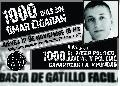 Jueves 12/11 - Jornada de Lucha x Mil Días sin Omar Cigarrán
