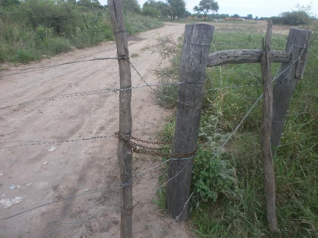 Portón de entrada a ...