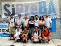 Trabajadores del Grupo Veintitrés se manifestaron ante la falta de pago