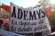 """Denuncian el envío de policía a """"vigilar"""" asamblea del sindicato Ademys"""