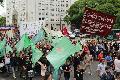 Masiva marcha contra el ajuste y la represión