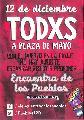 1° Encuentro de los Pueblos -12 de diciembre Plaza de Mayo desde 10 hs.