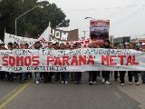 """Cierre de Paraná Metal: """"Vamos a resistir para recuperar el trabajo"""""""
