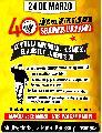 A 40 a�os del golpe genocida, mi�rcoles 23 de marzo, jornada cultural, radio abierta