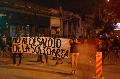 Marcha contra el desalojo de La Solidaria