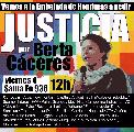 Viernes 4 de marzo: Vamos a la Embajada de Honduras a pedir Justicia por Berta C�ceres