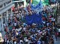 Gremios locales adhieren en masa a la movilizaci�n contra los despidos