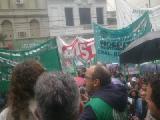 Contundente manifestaci�n de la CTA Aut�noma de Buenos Aires