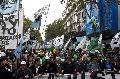 Multitudinaria movilizaci�n de la CTA Aut�noma en unidad con movimientos sociales