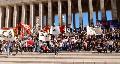 Estudiantes secundarios de Rosario rechazaron el aumento del boleto