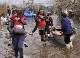 Inundaciones: poco de cat�strofe, mucho de miseria