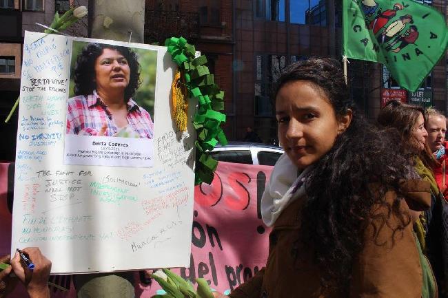 Berta Zúñiga Cáceres...