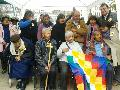 Recordaron los 70 años del Malón de la Paz