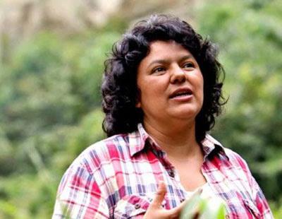 Berta Cáceres...