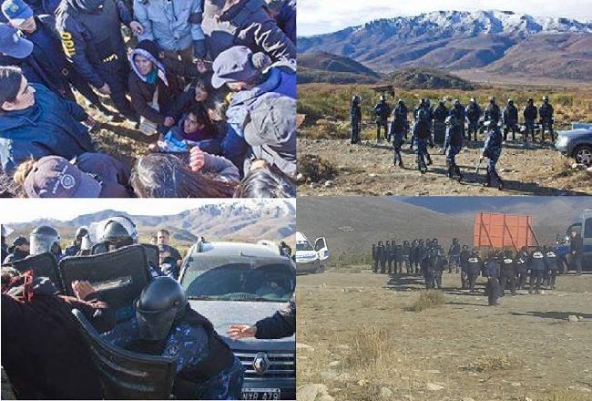 Mapuche detenidos e ...