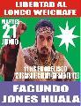 Martes 21/6: Movilización en apoyo al Pueblo Mapuche y por la libertad de nuestro lonko
