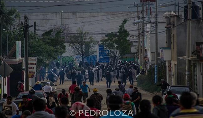 Domingo de represión...