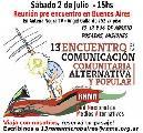 Pre Encuentro RNMA en Buenos Aires