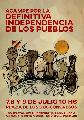Acampe por la Definitiva Independencia: 7, 8 y 9 de Julio en la Plaza de los Dos Congresos