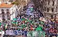 Multitudinaria movilización de la CTA Autónoma a Plaza de Mayo