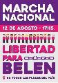 Marchamos por la libertad de Belén – Viernes 12 a las 17 horas