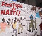 Por el retiro de tropas de Hait�