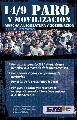 Provincia de Buenos Aires: Masiva convocatoria al Paro y Movilizaci�n del 14 de septiembre