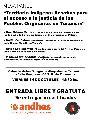 Mesa Panel: Desafíos para el acceso a la justicia de los Pueblos Originarios en Tucumán
