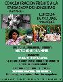 24/10, Bs. As.: Concentraci�n frente a la Embajada de Honduras