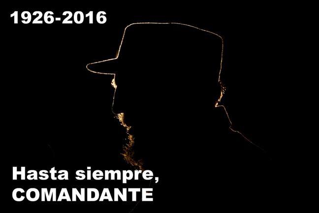 Murió Fidel Castro, ...