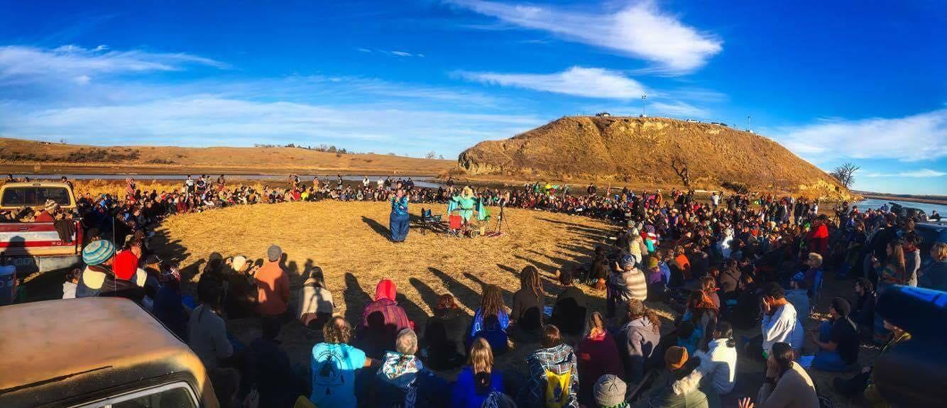 Foto: AguaEsVida-Indigenous Rising Media