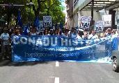 La CONADU Histórica mantiene su pliego y su plan de lucha