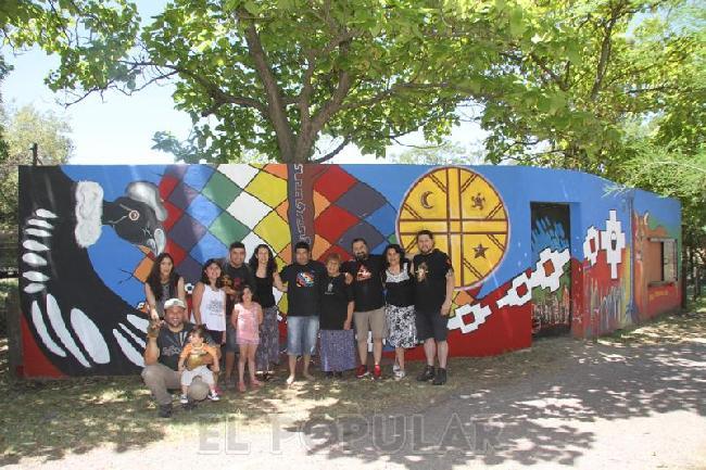 Olavarría: Un mural ...